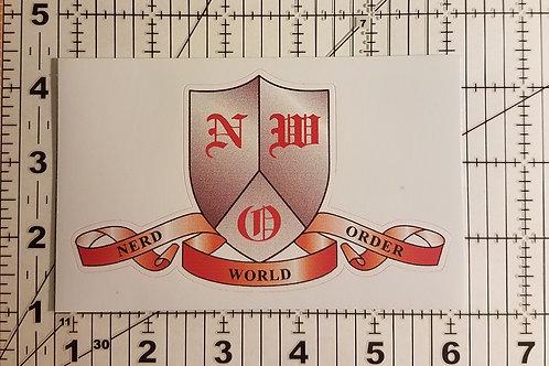 Logo Die Cut Vinyl Sticker