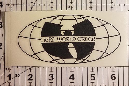 N.W.O 4 Ever Die Cut Vinyl Sticker