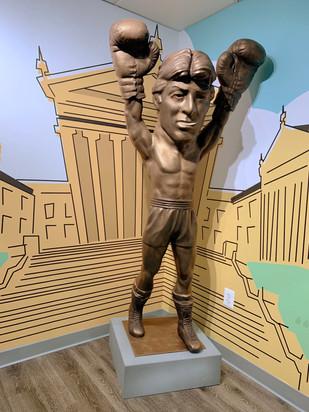 Bronzed Rocky