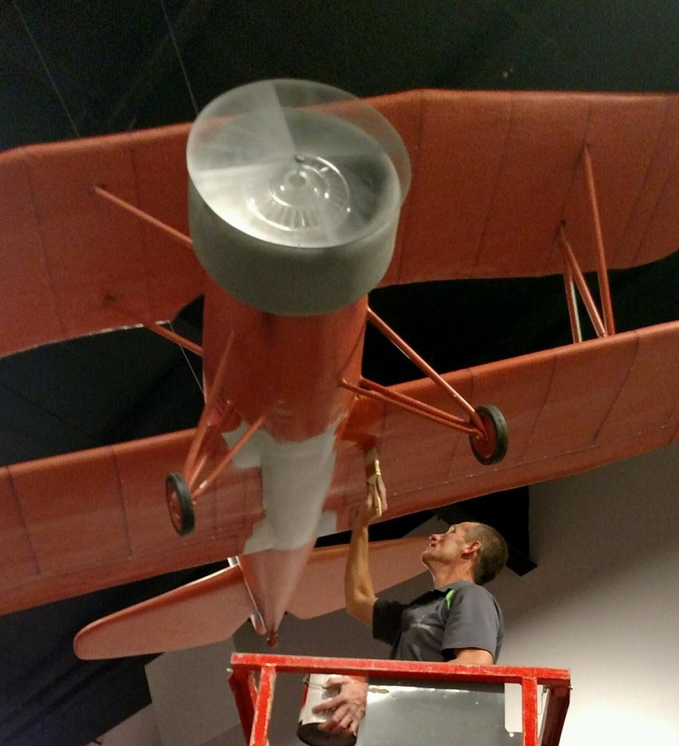 Prop Plane in progress