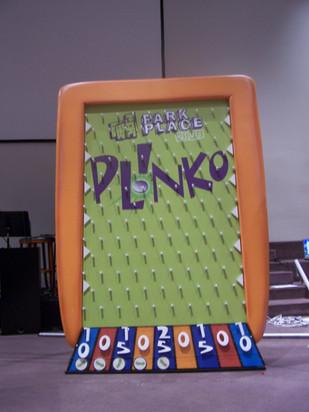 Life-Sized Plinko game