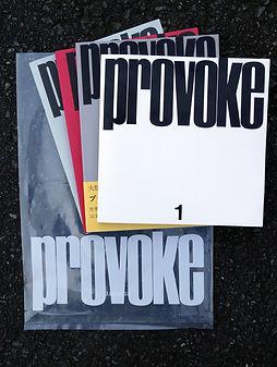 Provoke Reprint Edition (Nitesha, 2018)