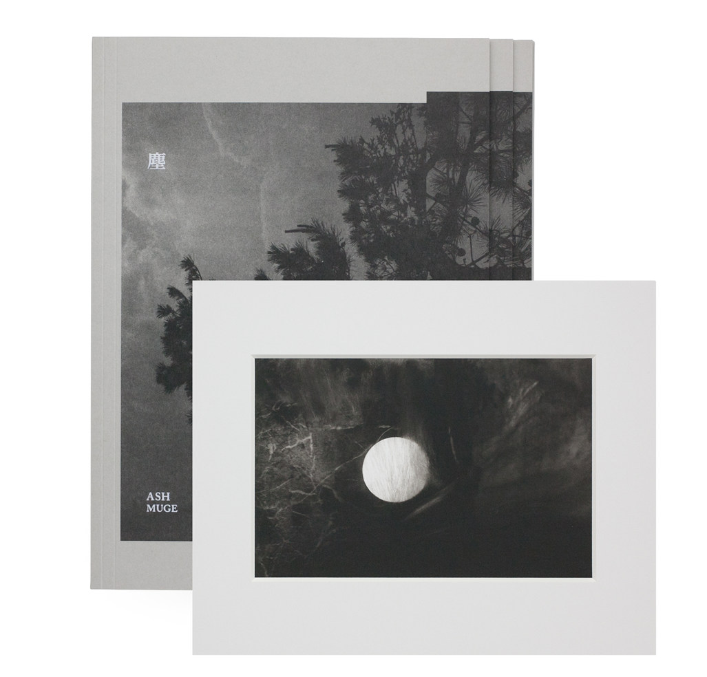 """Muge """"Ash"""" Special edition with a Platinum Print hand-made by the artist. Limited to 30 sets with 3 images, 10 sets for each. All sets are numbered and signed by the artist attached with a certificate."""