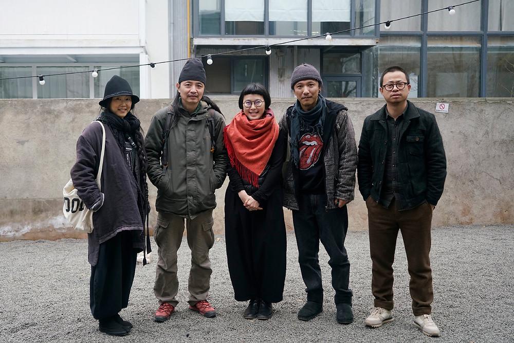 With Muge, Liu Ke, Huang Huang and Adou