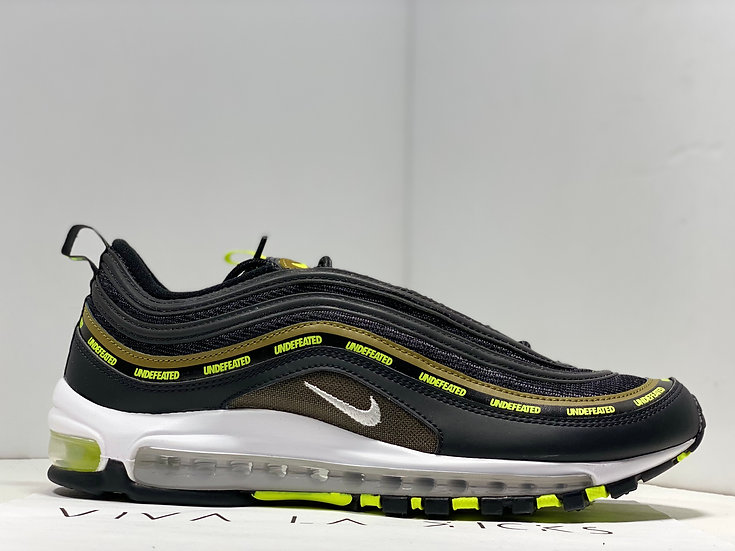 Nike Air Max 97 X Undefeated Black Volt