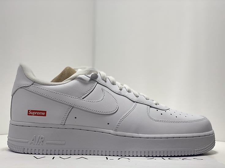 Supreme X Nike Air Force 1 Low White