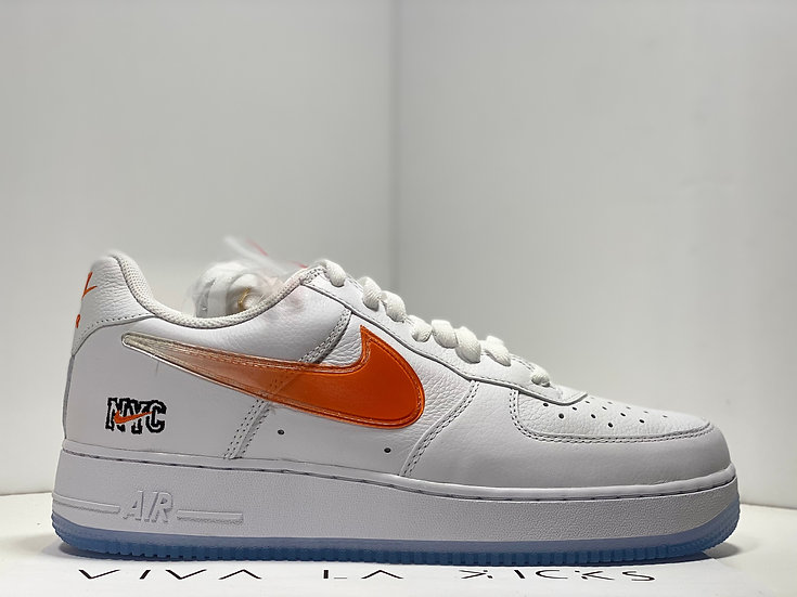 Kith X Nike Air Force 1 Low Knicks Away