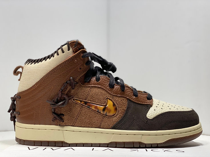 Bodega X Nike Dunk High Legend Brown