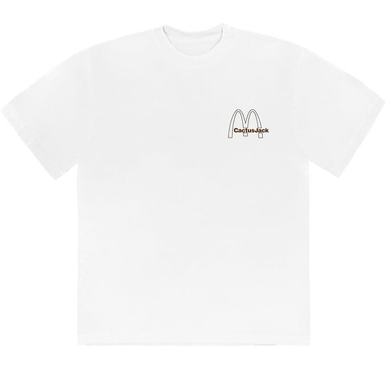 Travis Scott X McDonal's Vintage Action T-Shirt White