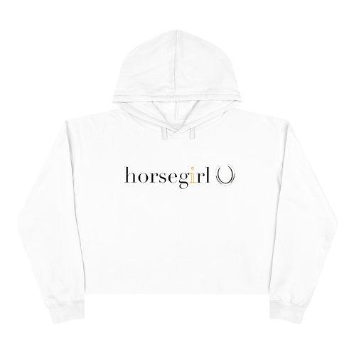 Horsegirl Cropped Hoodie