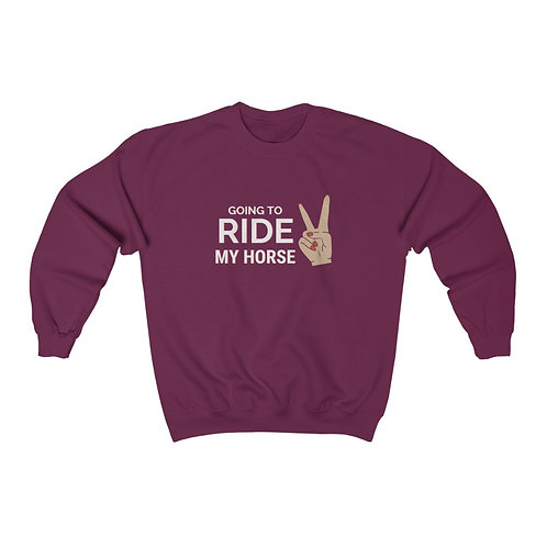 Going to Ride Crewneck