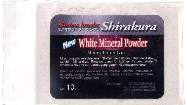 Shirakura – White Mineral Powder, Refill pack