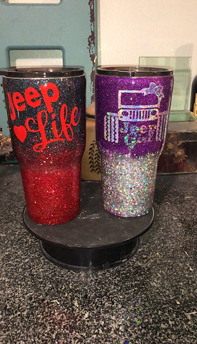 Jeep Girl and Jeep Life Tumbler