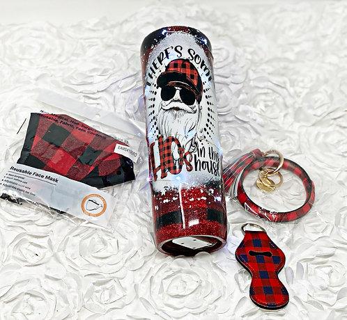 Buffalo plaid accessories bundle