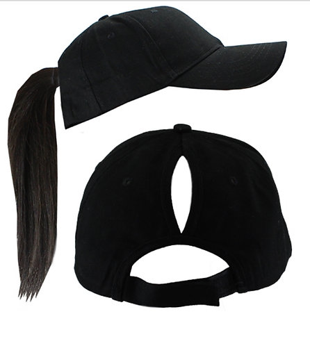 Custom Design Ponytail Hat