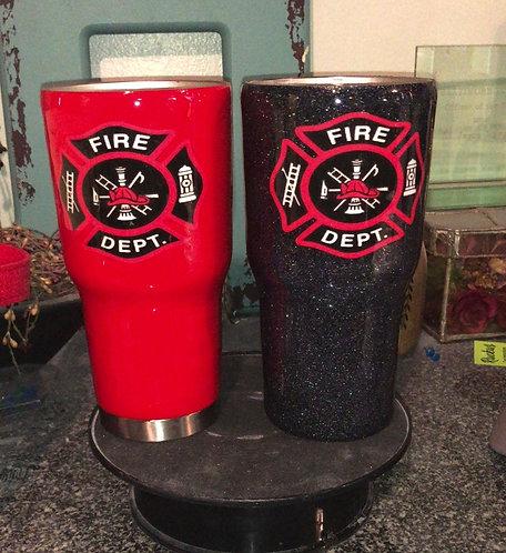 Firefighter Tumbler