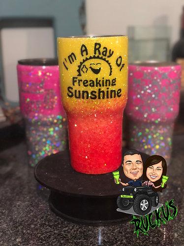 Ray of Sunshine Tumbler