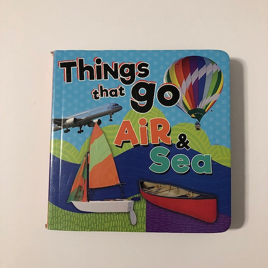 Things That Go Air & Sea Adapted Book