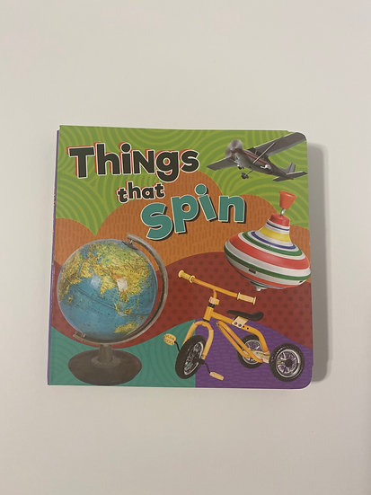 Things That Spin Adapted Book
