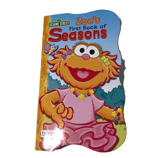 Zoe's First Book of Seasons Adapted Book