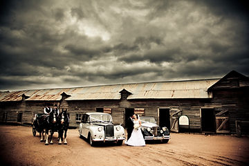 Jaguar Mk 5, Princess Limousine and Horse drawn carriage