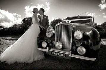 Classic wedding transport