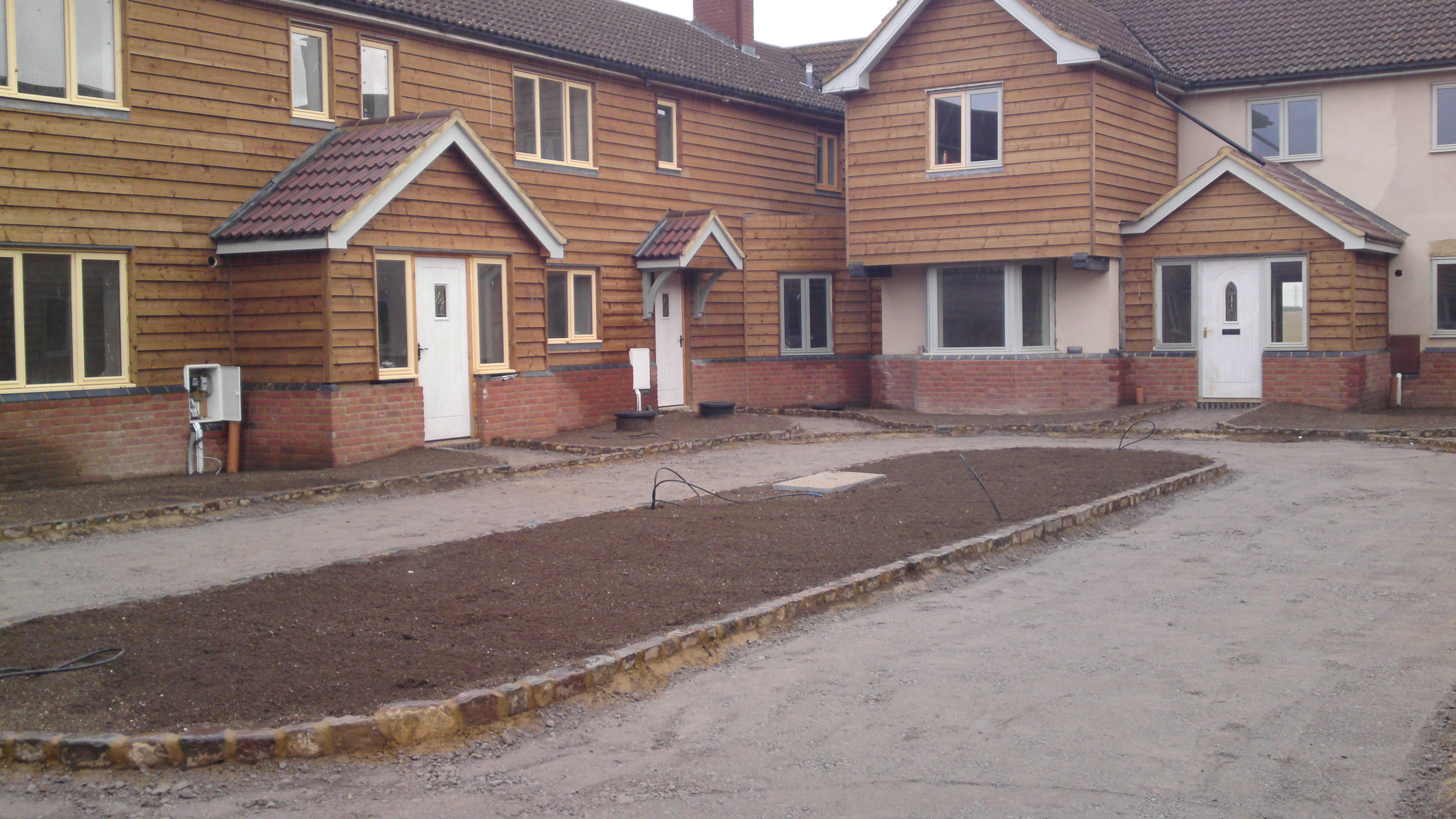 Same scheme pre- landscaping