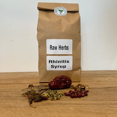 Rhinitis Syrup Raw Herbs