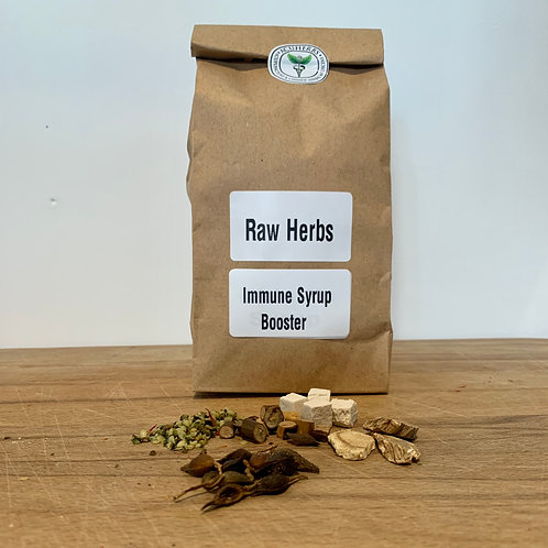 Immune Syrup Booster Raw Herbs