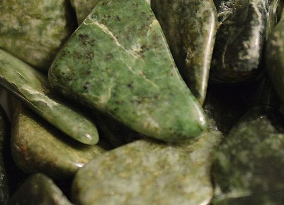 Jadeite -Tumbled