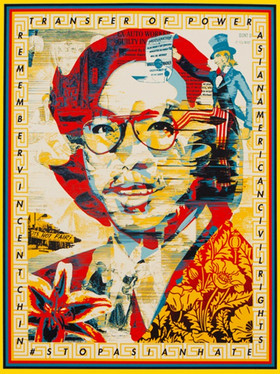 Gordon Cheung x Shepard Fairey #STOPASIANHATE Print Release