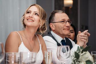 Wedding Photographer Birmingham, the wedding speeches at Westmead hotel Redditch
