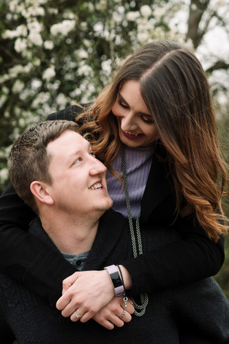 Harborne Golf Course, Engagement Photography Solihull
