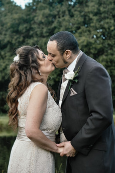 The Limes Wedding Photographer Solihull, Wedding Photographer Birmingham, bride & groom kissing during the portrait photographs at their wedding