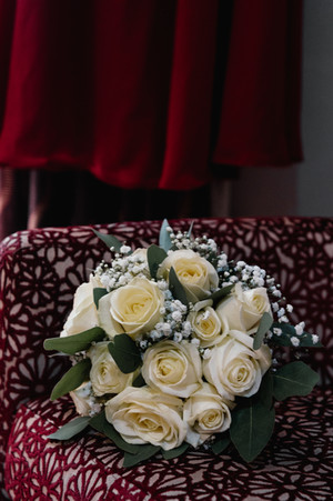 Wedding Photographer Warwickshire, the bridal bouquet at The WestMead Hotel Birmingham