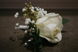 Wedding Photographer Birmingham, the button hole flower, Westmead hotel Birmingham, close detail shot of flower