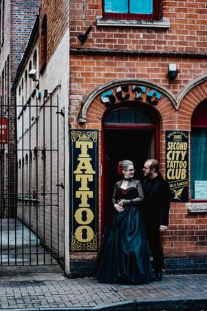Urban wedding Photographer Birmingham
