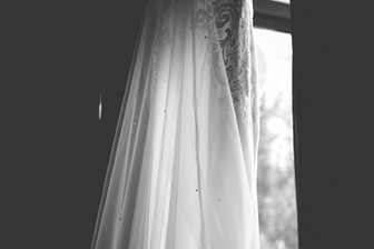 Wedding Photographer Solihull, detail of the brides wedding dress at the Westmead hotel Birmingham
