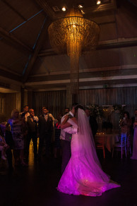Hampton Manor Wedding Photography Solihull, the bride & groom dancing during the reception, the first dance