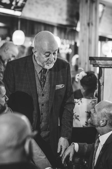52 Gas Street Birmingham, photographer Birmingham, guests talking at a wedding, fun photography