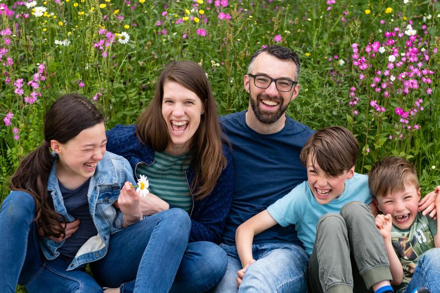 Outdoor Family Photographer Birmingham