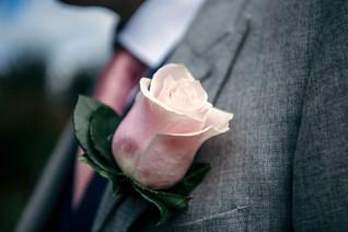 Lord leycester hospital wedding venue warwick, the grooms buttonhole wedding flower, wedding photographer solihull