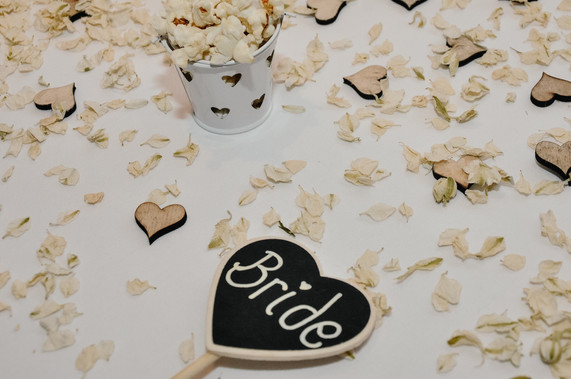 The Limes Wedding Photographer Solihull, Wedding Photographer Birmingham, close up of a table name place a heart with bride written on it