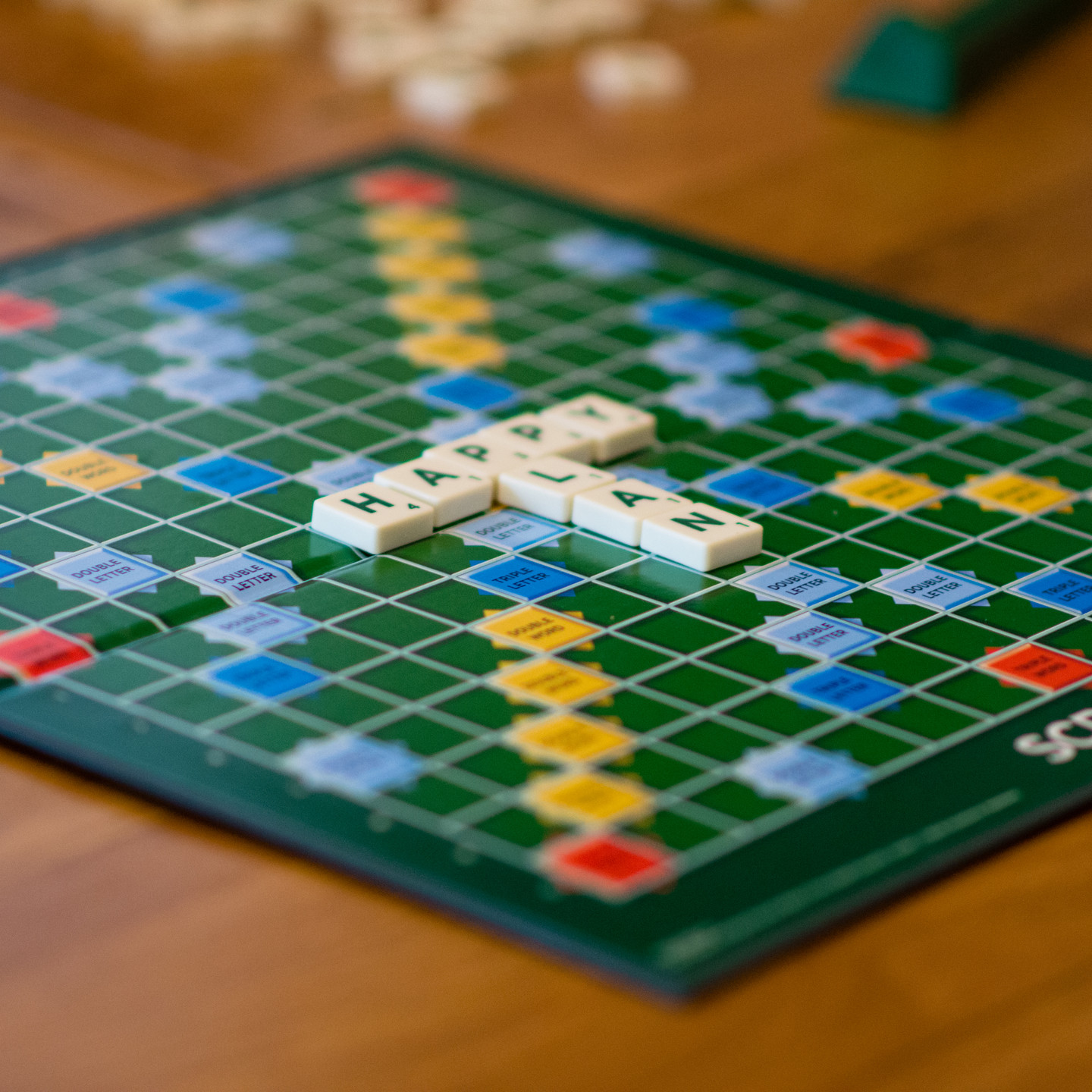 Lifestyle Photographer Solihull, close up image of a scrabble board