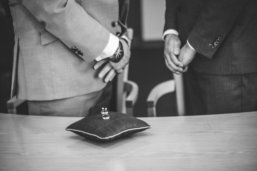 Birmingham Register Office Wedding Photographer Birmingham, a close up of the wedding rings, black & white image