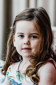 Hampton Manor Solihull Wedding Photography, little girl close up portrait during the speeches at a wedding