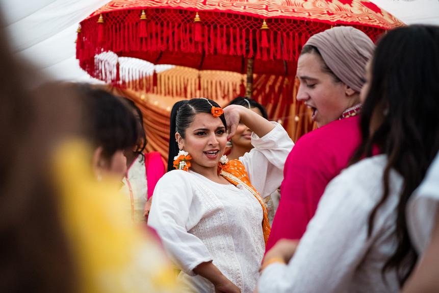 Asian female wedding photographer Birmingham