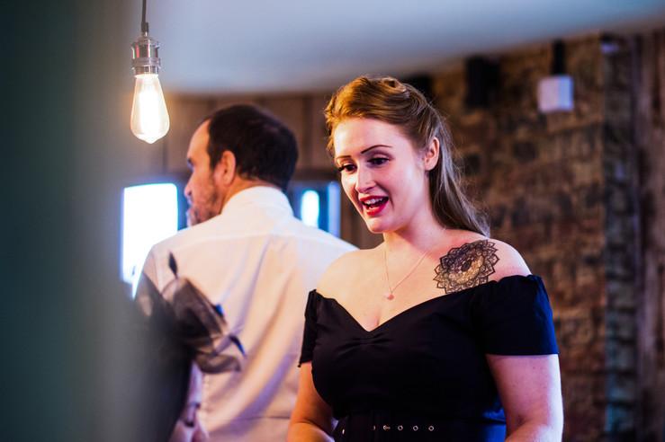 52 Gas Street Birmingham, photographer Birmingham, guests laughing at a wedding, informal photography