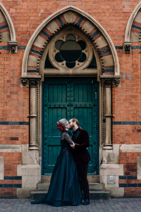 Urban wedding Photographer Birmingham