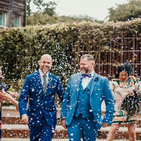 The Ivy - Darren & Michael's City Wedding